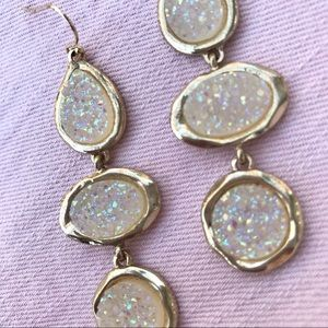 Baublebar - Druzy Drop Earrings